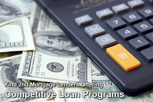 Find 2nd Mortgage Lenders Offering Competitive Loan Programs