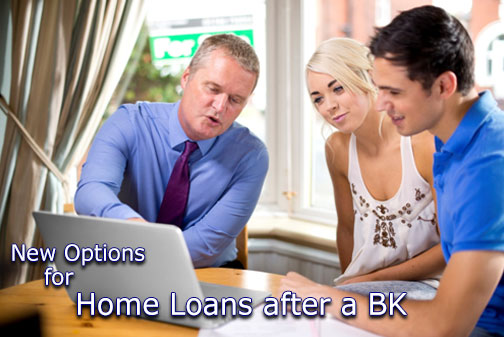 home loans after a bankruptcy