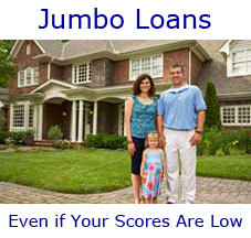 Bad Credit Jumbo Home Mortgage Loans - Million Dollar ...