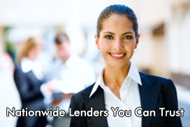 Nationwide Lenders You Can Trust
