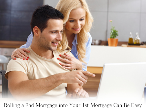 refinance 2nd mortgage