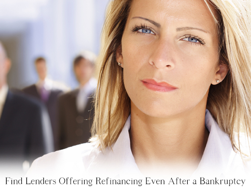 Refinance after a bankruptcy